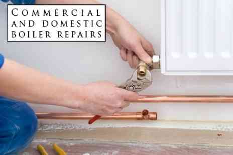 Commercial and Domestic Boiler Repairs - Central Heating Power Flush For Up To Eight Radiators - Save 75%