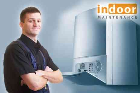 Indoor Maintenance - Boiler Service, Efficiency, and System Check For Two Years - Save 82%