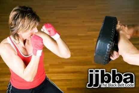 JJBBA Martial Arts - One Private Kickboxing Lesson Plus Eight Beginners Group Lessons - Save 89%