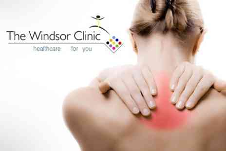 The Windsor Clinic - Chiropractic Consultation With Digital Imaging Examination - Save 80%