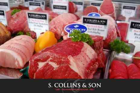 S Collins & Son - Voucher Towards Meat and Bakery Produce - Save 60%
