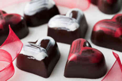 The Cocoa Box - 2 hour Valentines truffle making course including bubbly for 2 people - Save 52%