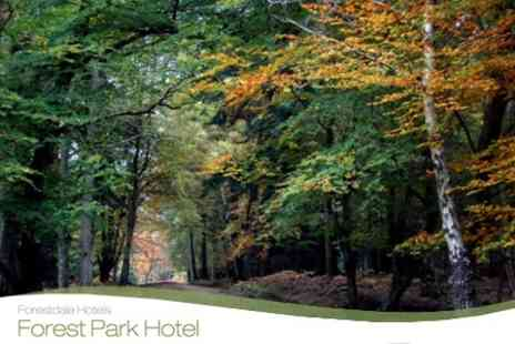Forest Park Hotel - Two Night New Forest Getaway For Two With Breakfast and Three Course Meal - Save 54%