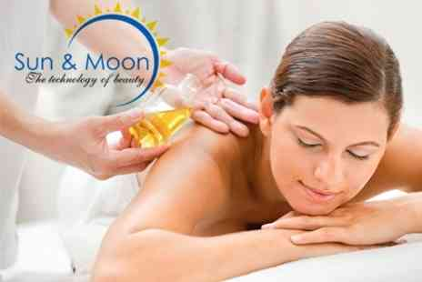 Sun & Moon Beauty - Choice of One Hour Massage Plus Paraffin Facial - Save 73%