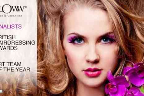 Bloww - Haircut, Blow Dry and Conditioning Treatment for only £26 (Usually £75) + 547% off any Colour Treatment - Save 65%