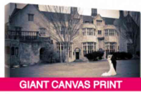 Your Perfect Canvas - Almost 60% Off A Giant 45 x 30 Canvas Print - Save 59%