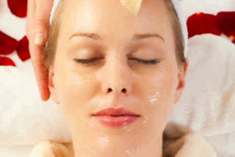 Beauty Station - Facial with Body, Scalp, Arm, and Hand Massage - Save 75%