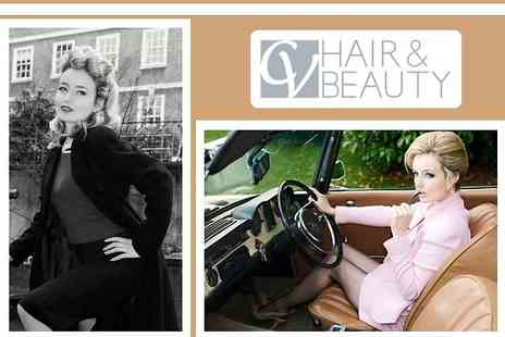 CV Hair & Beauty - Wash, cut and finish with a luxury conditioning treatment plus 50% off beauty services - Save 85%