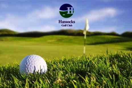 Hassocks Golf Club - Full Day of Golf With Trolley Hire For Four - Save 80%
