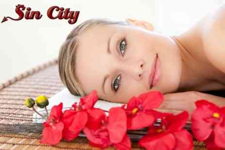 Sin City - Choice of Two Beauty Treatments from Crystal Clear Microdermabrasion, Aromatherapy Massage - Save 76%