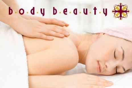Body Beauty - One Hour Full Body Massage - Save 56%