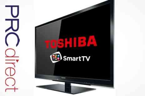 PRC Direct - Toshiba 37 Full HD 1080p LED Smart TV With Freeview With Optional Five Year Warranty - Save 33%