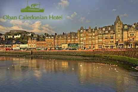 The Oban Caledonian Hotel - Two Night Stay For Two With Breakfast and Bottle of Wine - Save 61%