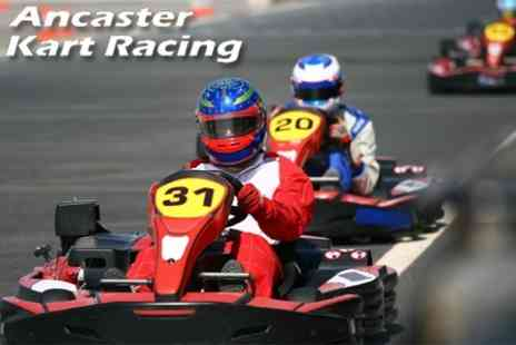 Ancaster Karting - Half Hour Of Go-Karting and Three Hours Of Paint balling - Save 60%