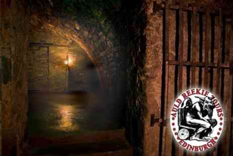 Auld Reekie Tours - Ghost and Torture Tour or Underground Tour - Save 58%