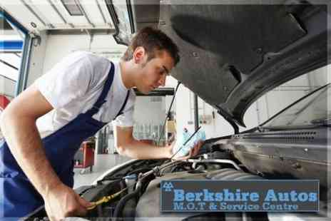 Berkshire Autos - Full MOT With Health Check and Oil Top Up - Save 69%