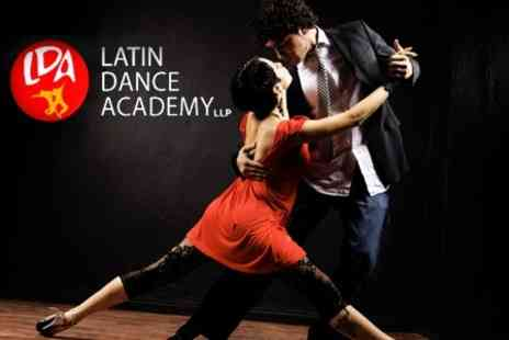 Latin Dance Academy - Four Introductory Tango Classes - Save 71%