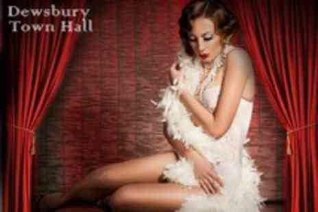 Dewsbury Town Hall - The Slippery Belle Burlesque and Cabaret Show Two Tickets - Save 55%