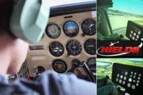 Hields Aviation - Helicopter Simulator Experience - Save 72%