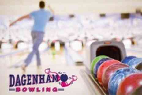 Dagenham Bowl - Two Games For Four People With Hamburger - Save 72%