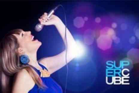 Supercube - Midweek Karaoke Party With Pizza and Drinks For Five - Save 78%