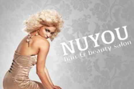 NuYou - Full Head Highlights With Cut and Blow Dry - Save 60%