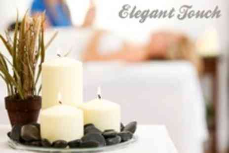 Elegant Touch - Pamper Package Back Massage, Express Facial and Manicure - Save 38%