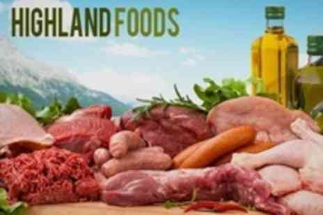 Highland Foods - Organic Meat Hamper of Lamb, Beef, Poultry, Mixed - Save 21%