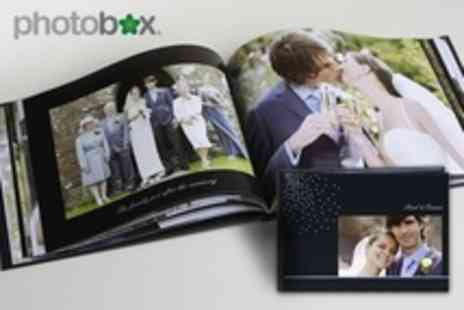 PhotoBox - A4 PhotoBox Photobook with SWAROVSKI ELEMENTS - Save 68%