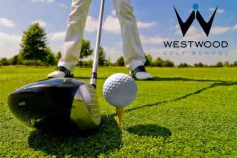 The Lee Westwood Golf School - Golf Coaching Session For Two - Save 66%
