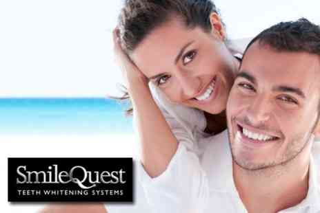 Smile Quest - One Hour Smile Quest Laser Teeth Whitening Treatment - Save 73%