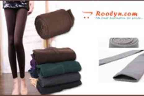 Roolyn - Keep Warm this Winter with there Thick Winter Leggings - Save 67%