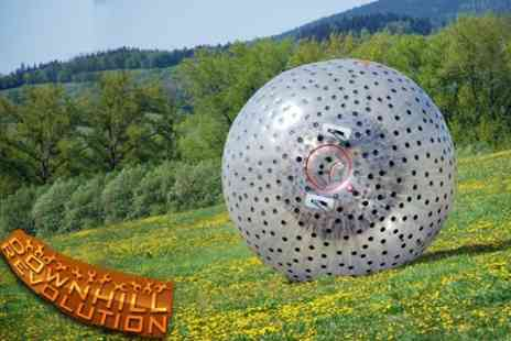 Zorbing Wales - Two Zorbing Runs For Two People - Save 62%