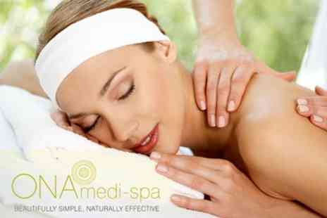 ONA Medi spa - Choice of Treatments Including Sports, Swedish, Advanced, Lymphatic Drainage - Save 68%