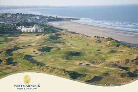 Portmarnock Hotel and Golf Links - Irish Break for Two People for Two Nights - Save 61%