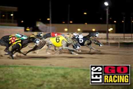 Swindon Greyhounds - Greyhound Racing Package For Two With Race Card, Hot Dog and Drink - Save 84%