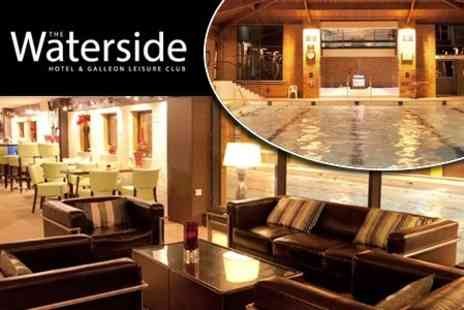 The Waterside Hotel & Galleon Leisure Club - One Night Stay For Two Plus Breakfast - Save 60%
