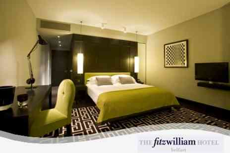The Fitzwilliam Hotel - Executive Room Stay For Two With Main Course Dinner - Save 55%