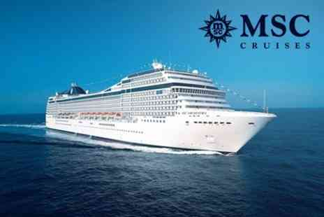 Cruise Holidays - All Inclusive Four Night Cruise to Italy, Spain and Portugal - Save 50%