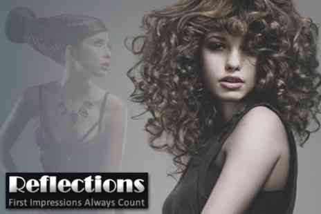 Reflections - Restyle, Cut and Finish with Blowdry and Deep Conditioning Treatment - Save 75%