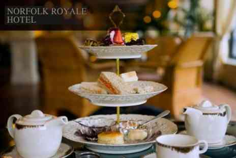 The Norfolk Royale Hotel - Afternoon Tea For Two With Champagne - Save 59%