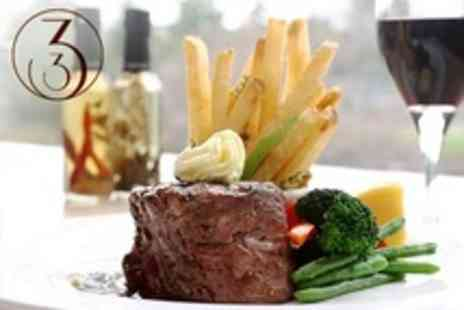 33 - British Cuisine Two Course Meal With Wine For Two - Save 55%