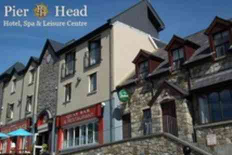 Pier Head Hotel - In North Sligo Two Night Stay For Two With Breakfast and Late Check Out - Save 51%