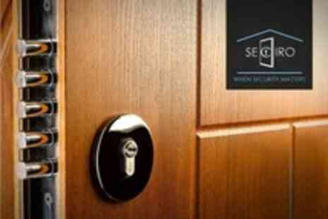Seciro - Internal or External Security Door Design - Save 50%