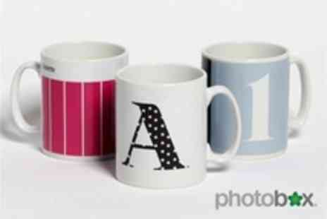 PhotoBox - The Mug Collection Personalised Mugs - Save 53%