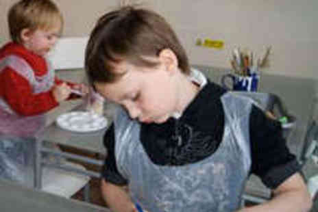 All Fired Arts - Paint your Own Pottery Session - Save 55%