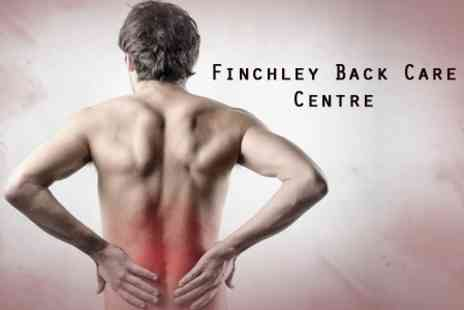 Finchley Back Care Centre - Chiropractic Consultation With Results Review - Save 78%