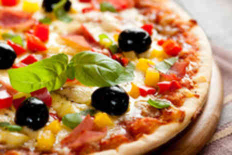 Ristorante Pizzeria Gali - Italian meal for 2 with glass of wine each - Save 61%