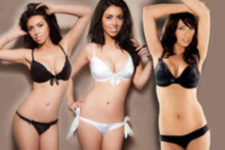 Alexis Smith - Lingerie set in your choice of 3 different designs - Save 68%