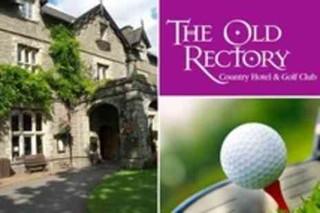The Old Rectory Country Hotel - In Brecon Beacons One Night Stay For Two With Three Course Dinner Plus Golf - Save 38%